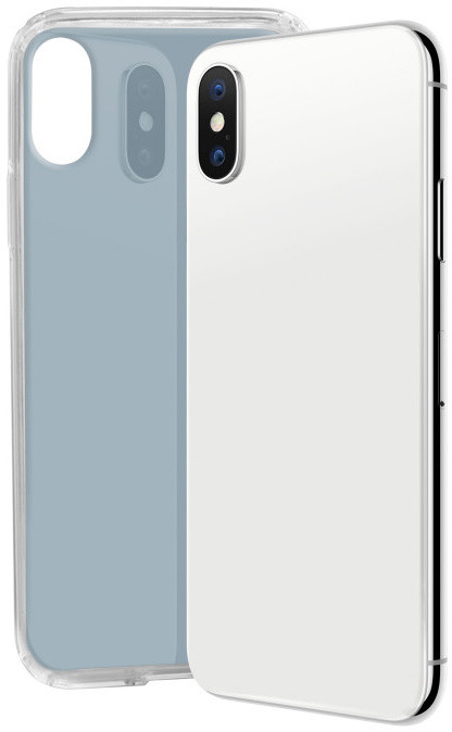 SBS Glue TPU pouzdro pro iPhone X, světle šedá