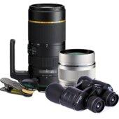 Objektivy a dalekohledy