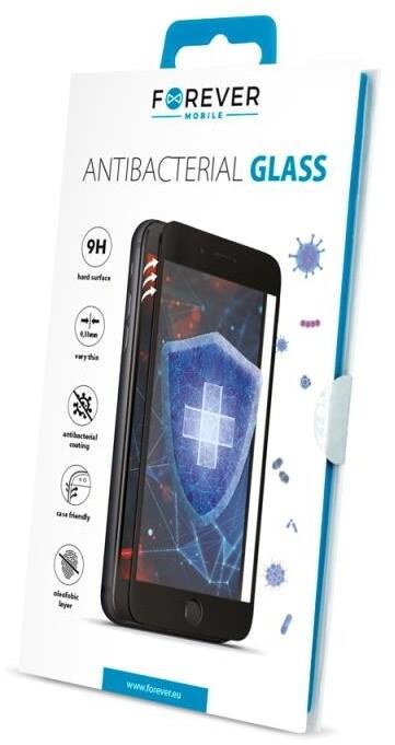 FOREVER tvrzené sklo pro Apple iPhone 7/8/SE(2020), antibakteriální, bílá