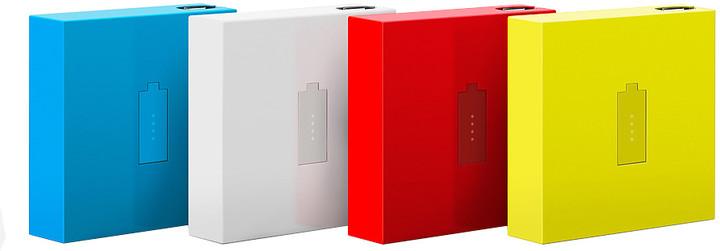 Nokia DC-18 záložní zdroj micro USB 1720mAh, červená