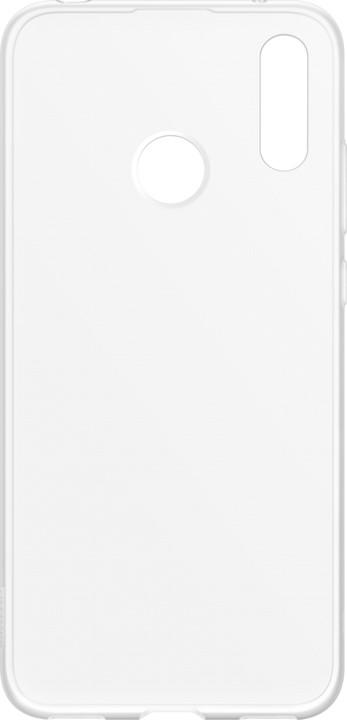 Huawei Original Protective silikonové pouzdro pro Y7 2019, transparentní