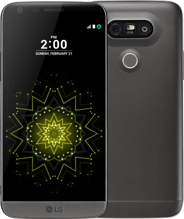 LG G5 (H860), Dual Sim, titan