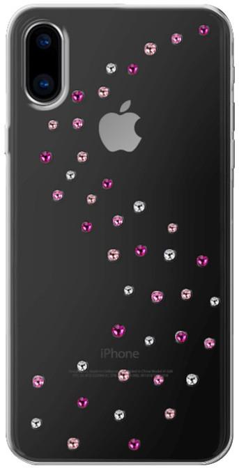 Bling My Thing Milky Way Rose Sparkles zadní kryt pro Apple iPhone X, krystaly Swarovski®