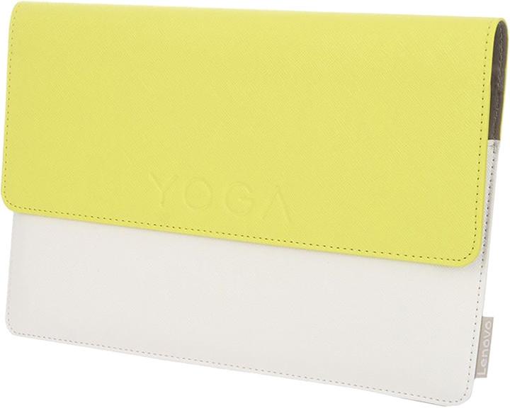 Lenovo pouzdro + fólie pro Yoga TAB 3 8, žluto-bílá