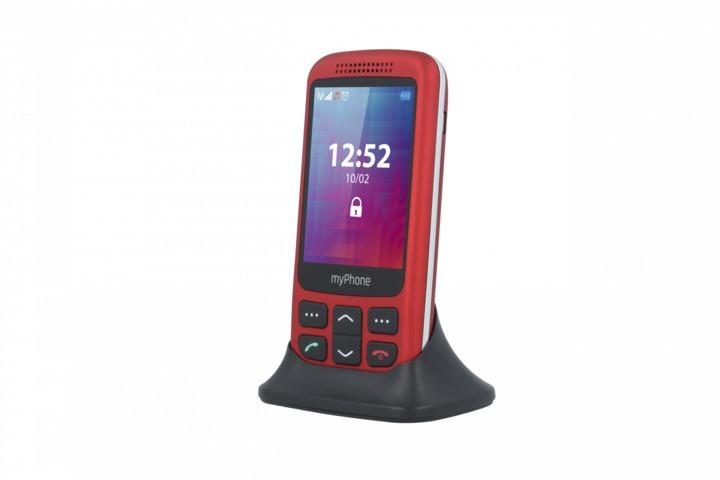 myPhone HALO S, červený
