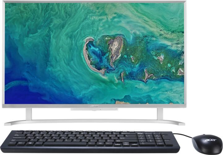 Acer Aspire C 22 (AC22-760), stříbrná
