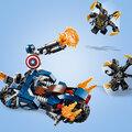 LEGO Marvel Super Heroes 76123 Captain America: útok Outriderů