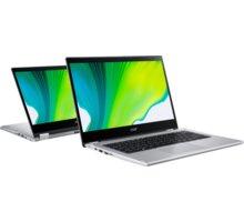 Acer Spin 3 (SP314-21-R3XH), stříbrná - NX.A4FEC.001