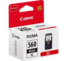 Canon PG-560XL, černá O2 TV Sport Pack na 3 měsíce (max. 1x na objednávku)