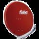 FUBA parabola 85 Al, červená  + Voucher až na 3 měsíce HBO GO jako dárek (max 1 ks na objednávku)
