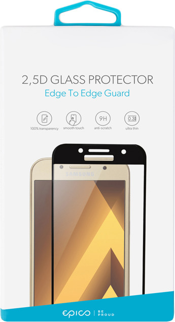 EPICO Tvrzené sklo pro Sony Xperia XA 1 EPICO GLASS 2,5D - černé