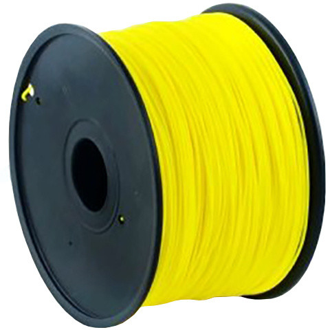 Gembird tisková struna (filament), ABS, 1,75mm, 1kg, žlutá