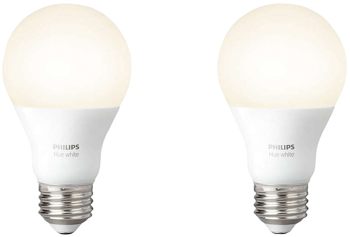 Philips Hue E27 White A60 2Pack