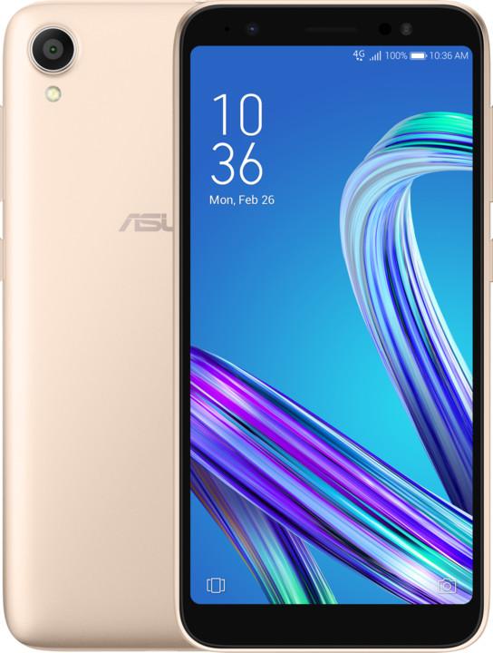 Asus Zenfone Live L1 (ZA550KL), 2GB/16GB, zlatá