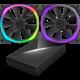 NZXT Aer RGB Series RF-AR120-C1, 2x120mm ventilátor + řídící panel HUE+