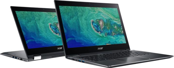 Acer Spin 5 celokovový (SP513-52N-823C), šedá