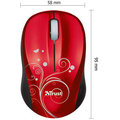 Trust Vivy Wireless Mini, Red Swirls