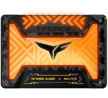 "Team T-FORCE DELTA S TUF Gaming RGB, 12V, 2,5"" - 500GB - T253ST500G3C312"