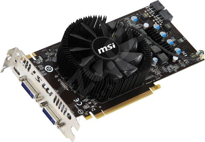 MSI N560GTX-M2D1GD5 (Single Fan), PCI-E