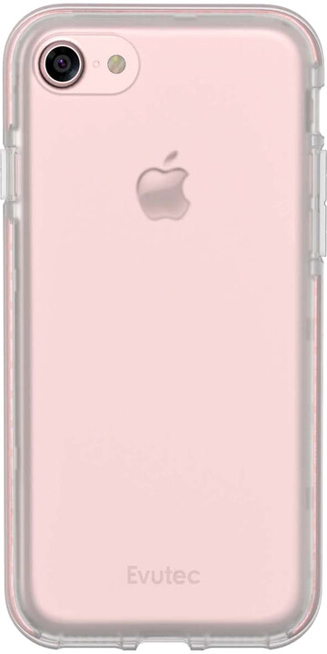 Evutec SELENIUM pro Apple iPhone 7, clear/růžová