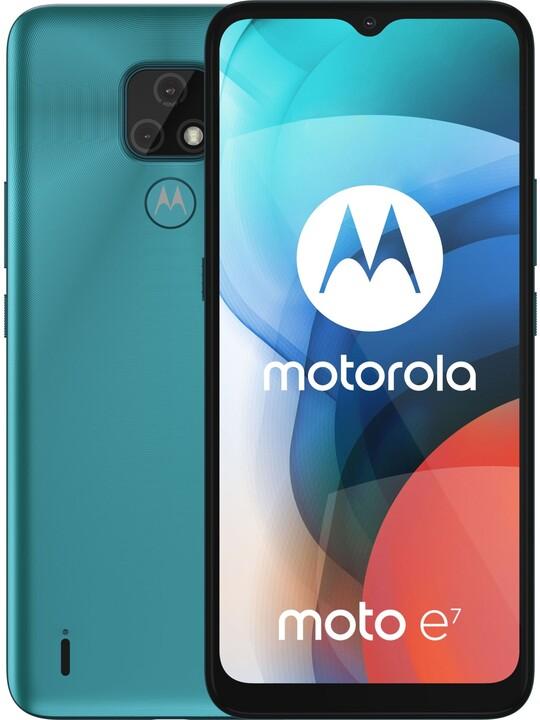 Motorola Moto E7, 2GB/32GB, Aqua Blue