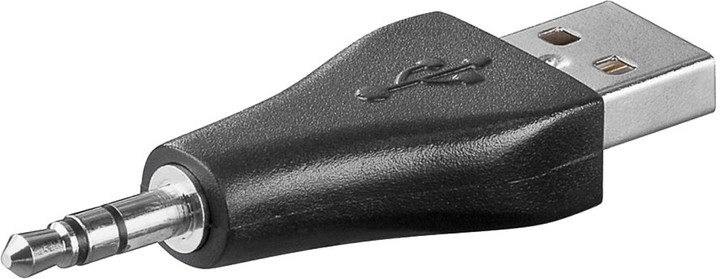 PremiumCord USB nabíjecí adaptér na stereo jack male