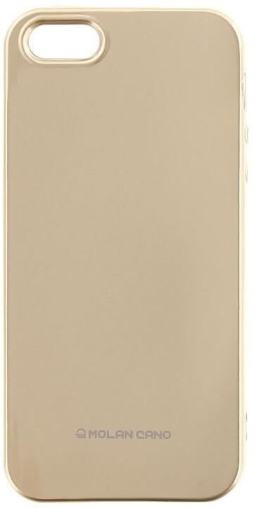 Molan Cano Jelly TPU Pouzdro pro Xiaomi mi A1, zlatá