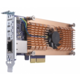 QNAP QM2-2S10G1T - Duální SSD M.2 2280 pro rozhraní SATA a jednoportová rozšiřující karta sítě 10GbE