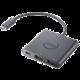 Dell redukce USB-C - 2x USB-A, PD