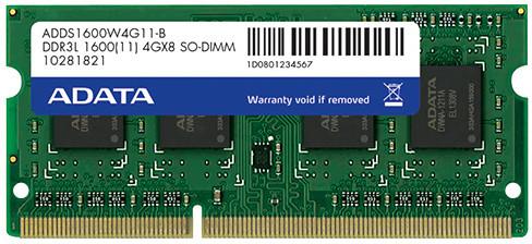 ADATA Premier 4GB DDR3 1600