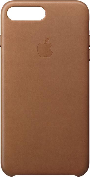 Apple Kožený kryt na iPhone 7 Plus/8 Plus – sedlově hnědý