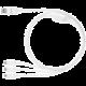 Samsung ET-TG900UBE nabíjecí kabel pro Galaxy S5, bílá