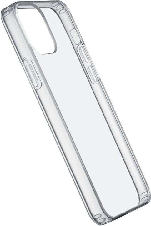 Cellularline zadní kryt Clear Duo pro Apple iPhone 12 mini, s ochranným rámečkem, čirá