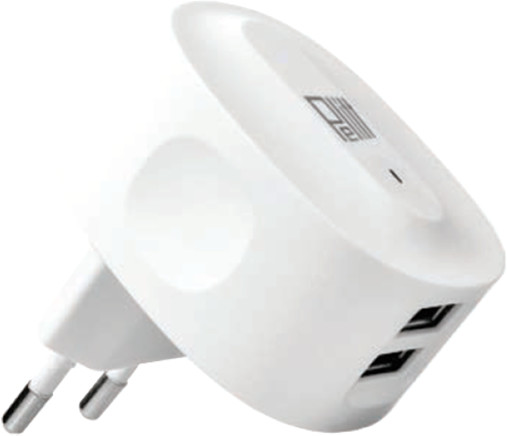 Pelitt síťový nabíjecí adaptér P-602, bílá