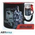 Hrnek Metal Gear Solid - Solid Snake (měnící se)