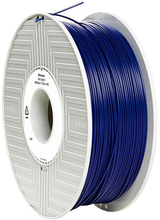 Verbatim tisková struna (filament), ABS, 1,75mm, 1kg, modrá