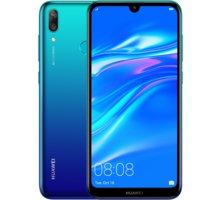 Huawei Y7 2019, 3GB/32GB, modrá  + Půlroční předplatné magazínů Blesk, Computer, Sport a Reflex v hodnotě 5 800 Kč