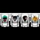Skleničky DC Comics - Suicide Squad Skulls