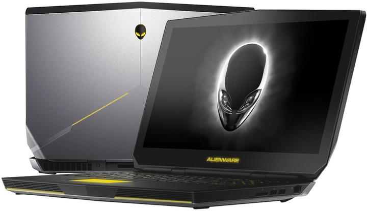 Dell Alienware 15 R2, stříbrná