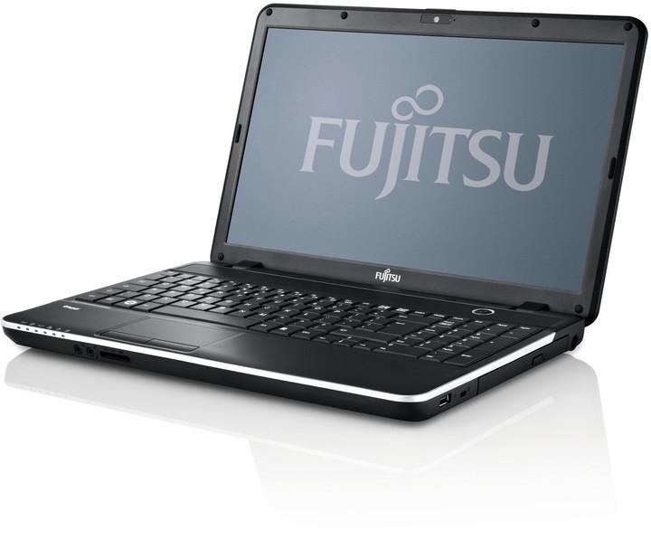 Fujitsu Lifebook A512, černá