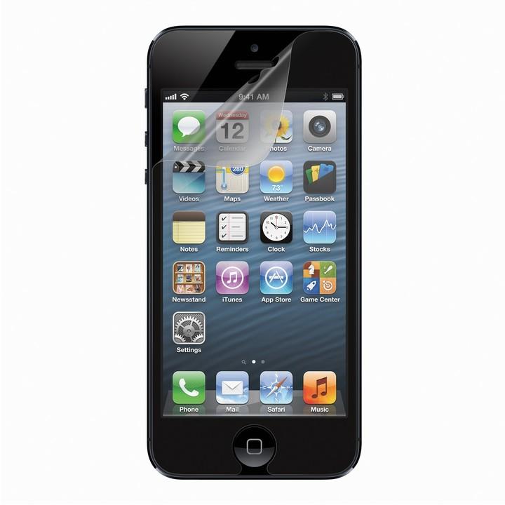 Belkin ScreenGuard ochranná fólie čirá pro iPhone 5/SE, 3ks