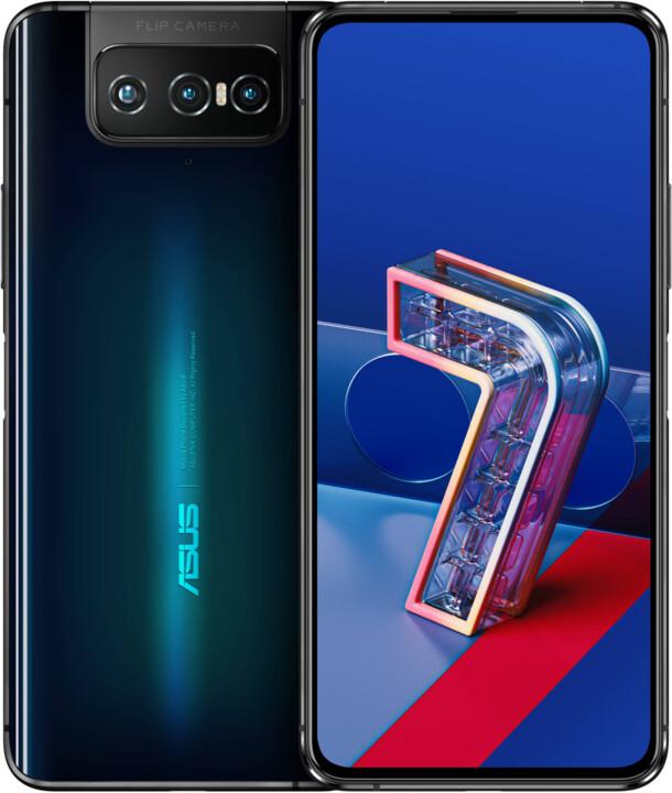Asus Zenfone 7, 8GB/128GB, Aurora Black