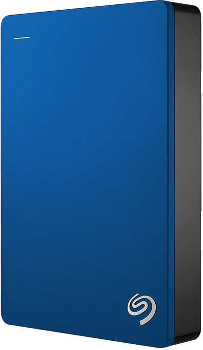 Seagate Backup Plus Portable 4TB, modrá