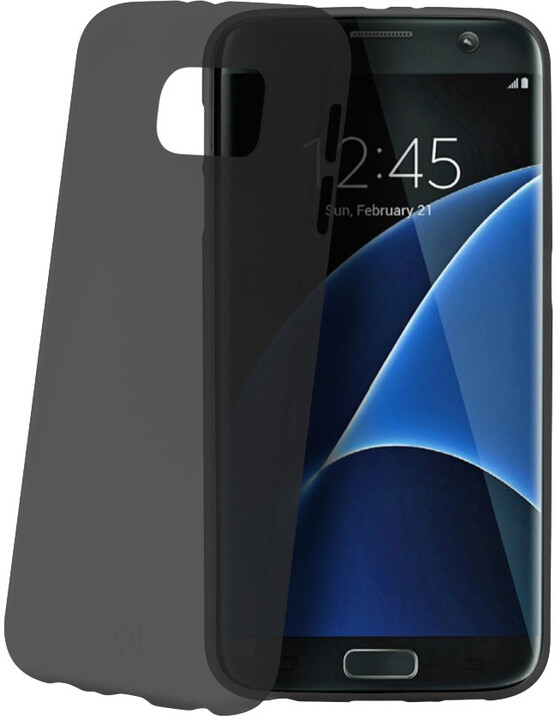 CELLY Frost pouzdro pro Samsung Galaxy S7 Edge, 0,29 mm, černá