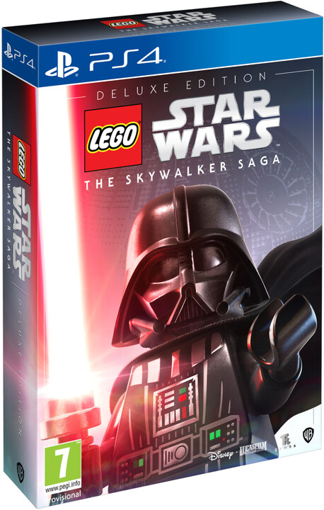 Lego Star Wars: The Skywalker Saga - Deluxe Edition (PS4)
