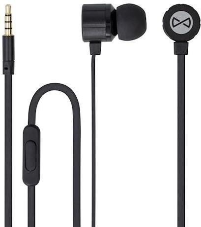 Forever MSE-200 přenosná stereo sluchátka (TFO-N) 3,5mm Jack s mikrofónem, černá