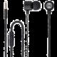Forever MSE-200 přenosná stereo sluchátka (TFO-N) 3,5mm Jack s mikrofónem, černá  + Při nákupu nad 500 Kč Kuki TV na 2 měsíce zdarma vč. seriálů v hodnotě 930 Kč