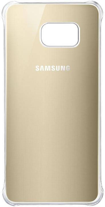 Samsung zadní kryt Glossy pro Samsung Galaxy S6 Edge+, zlatá