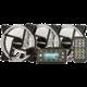 1stCool Fan KIT AURA RAINBOW, 3x ARGB LED ventilátor 12cm + řadič + dálkové ovládaní