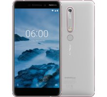 Nokia 6.1 2018, Dual Sim, 32GB, bílá